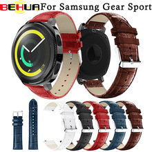 Leather watchband Replacement Accessories Wristband Straps band For Samsung Gear Sport Genuine watch bracelet wristband
