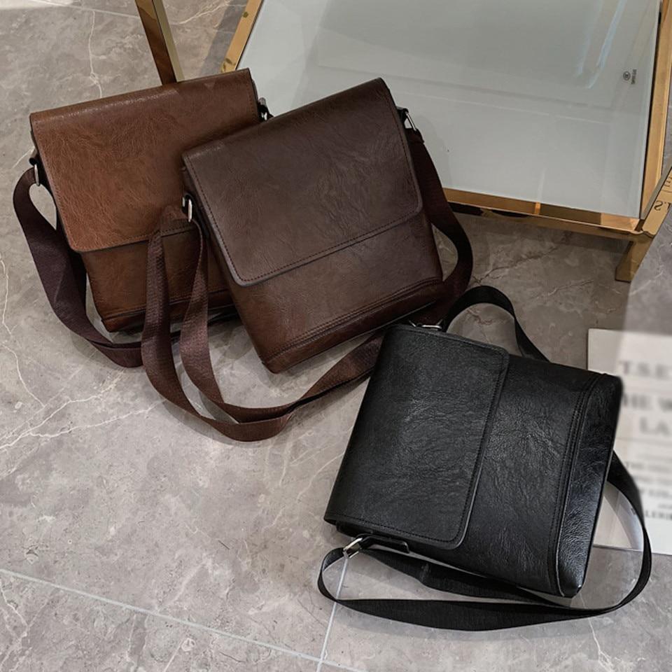 Coneed Men s Business Bag Briefcase Solid Color Beautiful