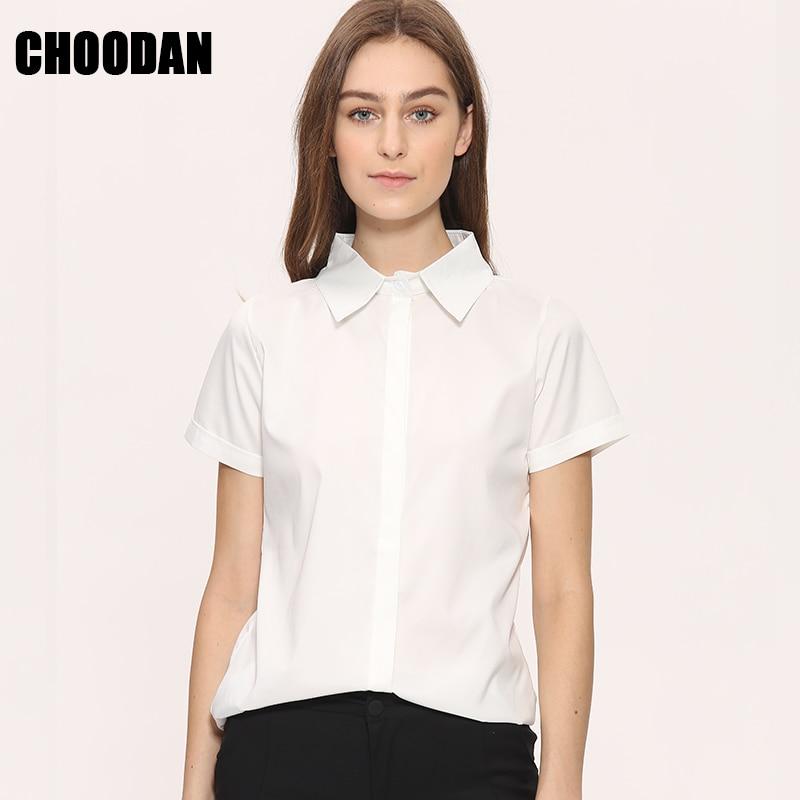 Women Blouse Shirt Short Sleeve Summer 2017 New Fashion