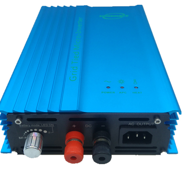 500w 12v Grid tied inverter for PV DC input 16v-28v dc to ac120V or 230V high efficiency For 12V Battery Adjustable Power Output