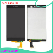 цена на Original Quality For Huawei Ascend P8 LCD Display+Touch Screen Digitizer Assembly With Tools