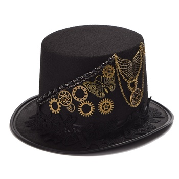 Шляпа в стиле стимпанк винтаж в ассортименте 1