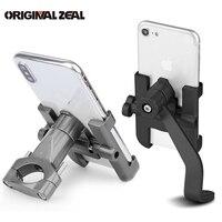Stable Metal Motorcycle Phone Holder Handlebar Stand Support Universal Rearview Mirror Phone Holder Soporte Celular Moto Bike|Phone Holders & Stands|   -