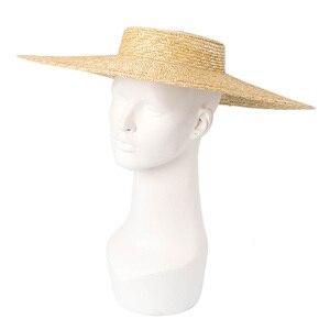 Image 3 - Шляпа женская летняя большая с широкими полями 15 см