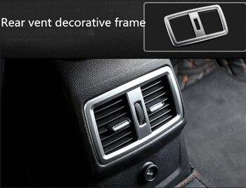 Pour BMW X1 arrière évent jardinière décorative réaménagé intérieur décoration 16-2019X1 mise à niveau spécial accessoires automobiles