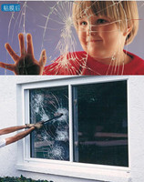SUNICE 16mil(0.4mm) Security Safety Film Anti shatter Window Film Security&Safety Glass Natural Disaster Typhoon1.52*10M