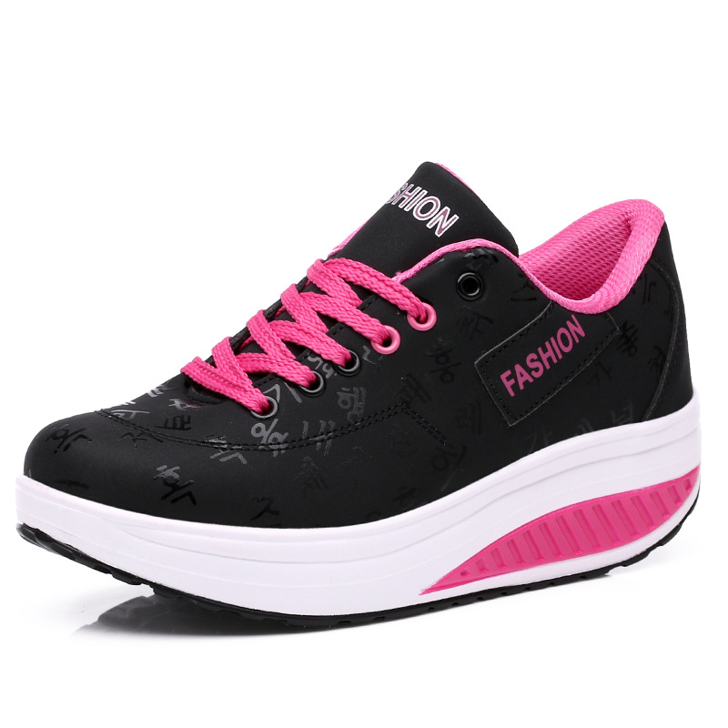 PU Γυναικεία Γυναικεία Τόνωση - Πάνινα παπούτσια - Φωτογραφία 4