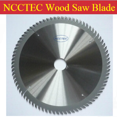 6.4'' 80 Teeth NCCTEC 160mm Tungsten Carbide Tipped Saw Blade For Wood FREE Shipping