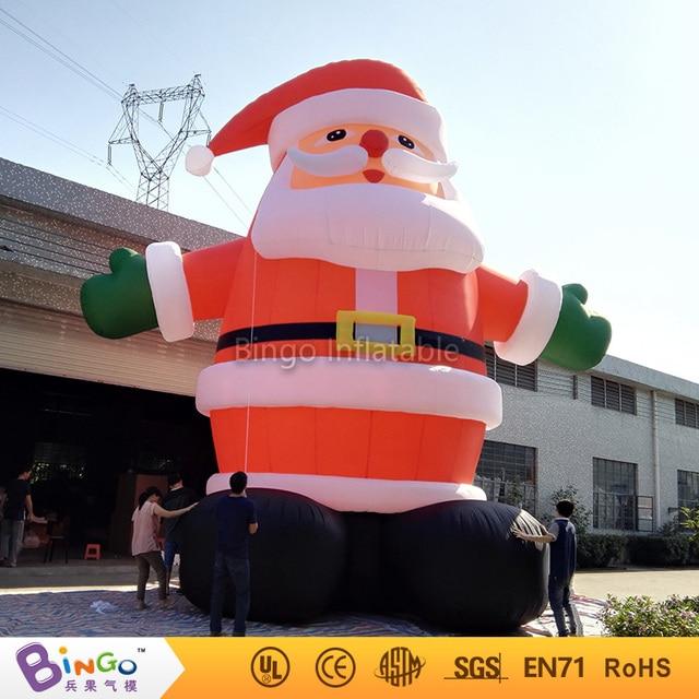 8 м надувные Рождество санта-клаус мультфильм для adversting надувные деревья и дома и box индивидуальные фестиваль игрушка