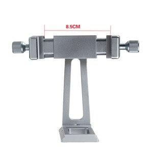 Image 4 - Réglable trépied montage adaptateur Vertical 360 Rotation téléphone tondeuse support pour iPhone X 8 7 Huawei Samsung