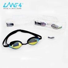 Lentes Anti-fog Proteção UV Óculos de Natação Divisão LANE4 Fácil ajuste  Leve Nenhum escape 27de601135