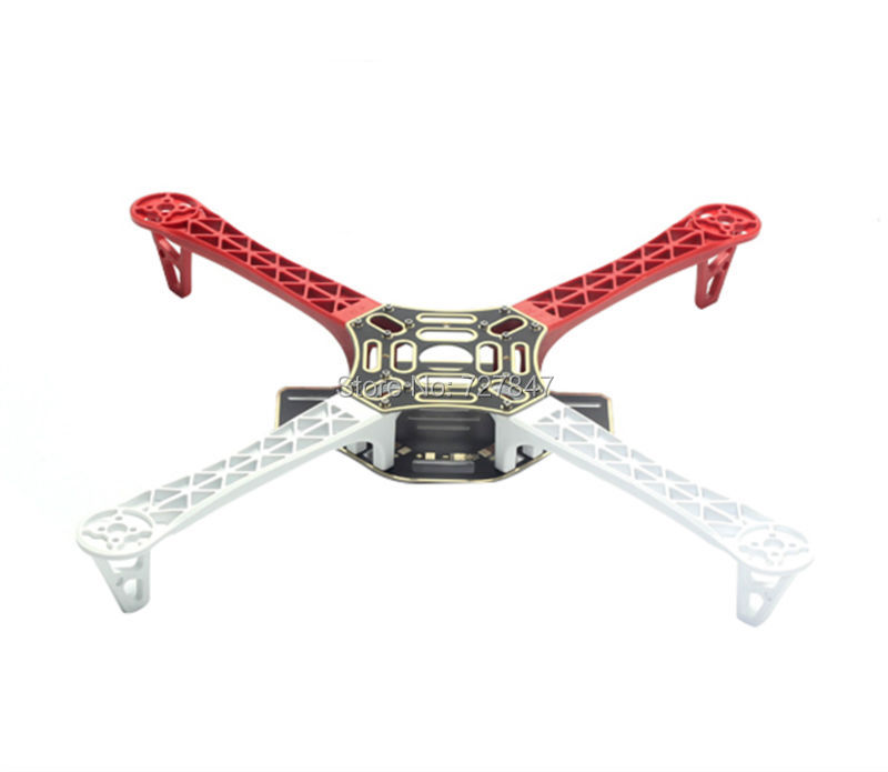 Q450 F450 Nylon Fiber Multi-Rotor Air Frame FlameWheel KIT for KK MK MWC 4 Axis RC Multicopter Quadcopter UFO Heli