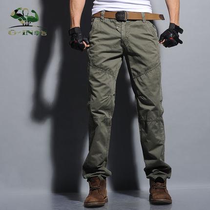 צבא טריקו המכנסיים המכנסיים מכנסיים - בגדי גברים