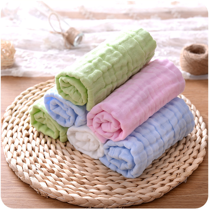 1pcs 27 27cm Square Solid Color Soft Face Towel Cotton Hair Hand Bathroom Towels badlaken toalla Toallas Mano in Face Towels from Home Garden