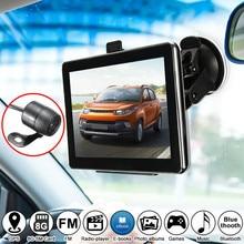 KROAK 7 Pulgadas Sistema de Navegación GPS Navegador de Coche Camión Inalámbrica Cámara de Visión Trasera Bluetooth