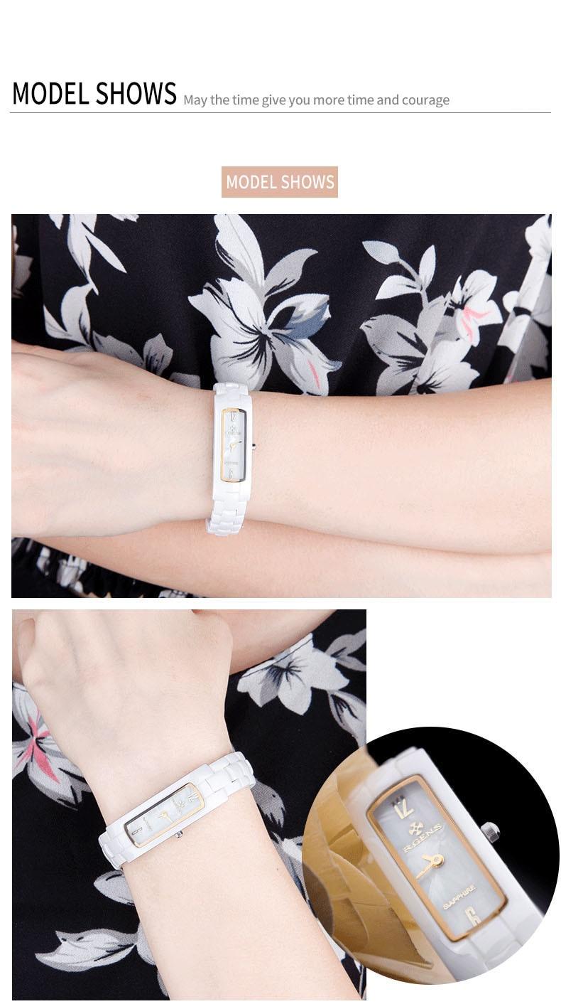 Γνήσια γυναικεία κεραμικά ρολόγια - Γυναικεία ρολόγια - Φωτογραφία 5