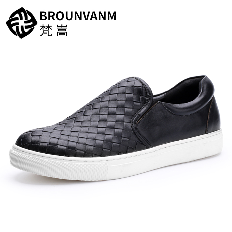 leather shoes breathable weaving men casual shoes,handmade fashion comfortable breathable  British retro men shoes autumn winter european british retro men shoes male leather breathable sneaker fashion boots men casual shoes handmade fashion