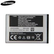 Bateria Original AB043446BE AB463446BU AB553446BU Para Samsung C3300K X208 A20Pro X160 B309 C3520 E1228 E2530 E339 GT E2330 C5212
