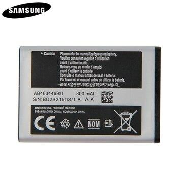 Batteria originale AB043446BE AB463446BU AB553446BU Per Samsung C3300K X208 A20Pro X160 B309 C3520 E1228 E2530 E339 GT-E2330 C5212