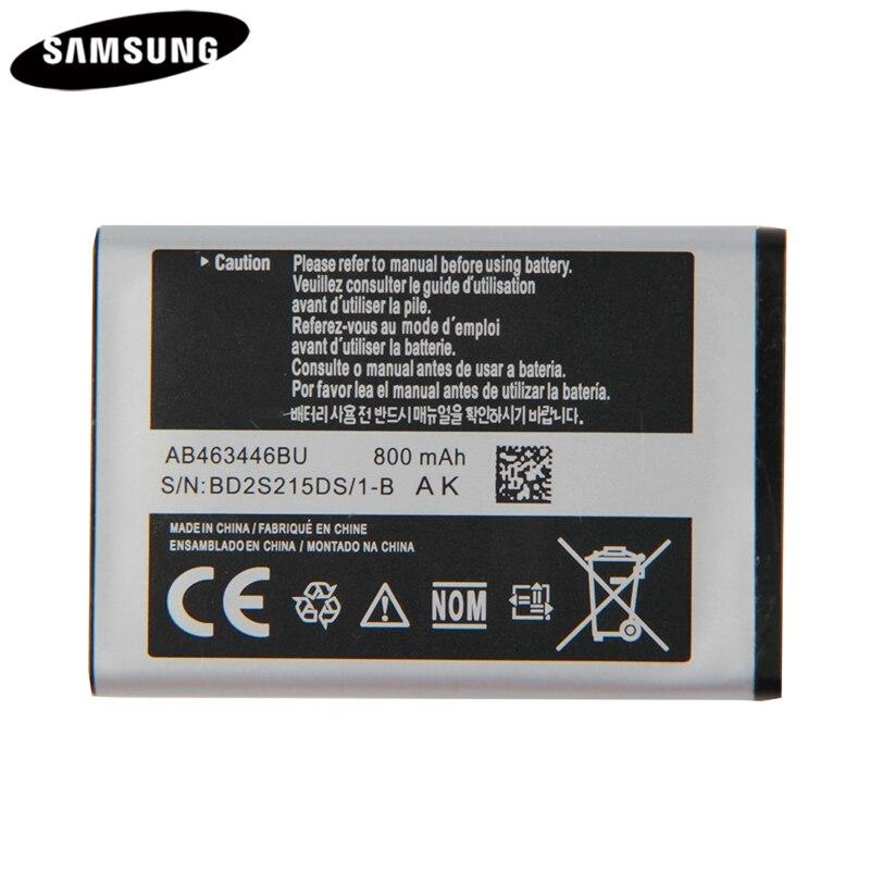 Original Batterie AB043446BE AB463446BU AB553446BU Für Samsung C3300K X208 X160 B309 GT-C3520 E1228 GT-E2530 E339 GT-E2330 C5212