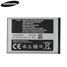 Original Battery AB043446BE AB463446BU AB553446BU For Samsung C3300K X208 A20Pro X160 B309 C3520 E1228 E2530 E339 GT E2330 C5212