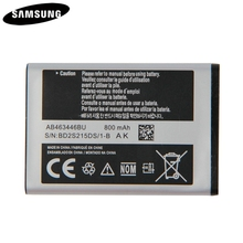 Original Battery AB043446BE AB463446BU AB553446BU For Samsung C3300K X208 B189 B309 GT-C3520 E1228 GT-E2530 E339 GT-E2330 C5212 cheap 0-1300mAh
