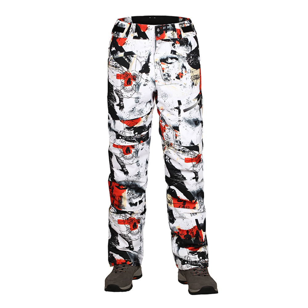 Free shipping  NEW winter sports Man snowboard Ski pants ,HIGH QUALITY different color snowboarding pant UNISEX ski