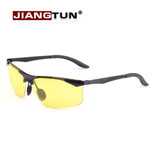High Quality Polarized Sunglasses Driving Night Vision Goggle Sun Glasses Anti-UVA For Outside UV Protection Oculos Masculino