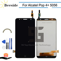 AA+ Quality LCD 5.5'' For Alcatel Pop 4+ OT 5056 5056A 5056D 5056E 5056T LCD Display Touch Screen Digitizer Assembly Replace