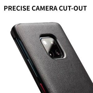 Image 5 - Чехол книжка QIALINO из натуральной кожи для Huawei Mate 20 Pro, Стильный Ультратонкий чехол для смартфона ручной работы для Mate 20/X