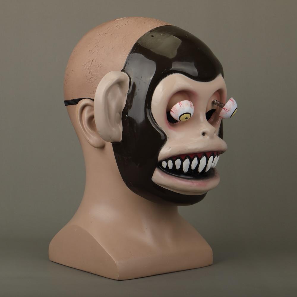 Animal Masks Animal Themed Costumes Monkey Orangutan Mask Cosplay Prop Halloween Accessories Men Women Face Mask Full Head (12)
