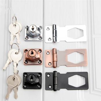 W stylu Vintage drzwi antywłamaniowe złącze camlock z przycisk blokady biurko szuflada szafa na ubrania zamek meblowy do szafki 2 klucze hasp zatrzask sprzęt meblowy tanie i dobre opinie POWLEKANE ELEKTROLITYCZNIE Ze stopu cynku Vintage door lock 35-45mm desk drawer lock wardrobe lock Furniture Cam Locks hasp latch