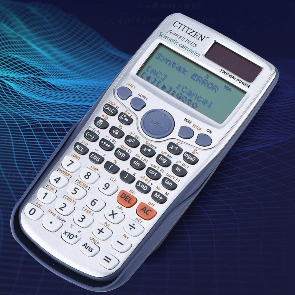 991ES PLUS Office Calculator 417 Functions Student Function Scientific Calculator School Exam Calculadora Cientifica