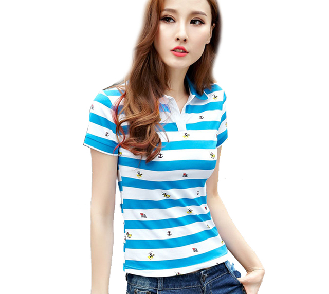 Large Size Movement Loose Short Sleeve Female Summer Breathable Plaid Cotton Femme Women Shirt Feminina Polo Plain A50