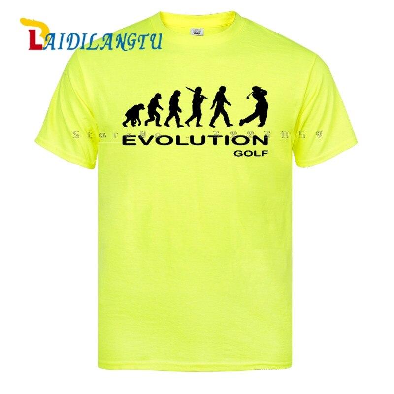 Hot SELL EVOLUTION GOLF funny sport NEW xmas birthday gift ideas boys top T SHIRT