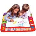 Nova Chegada 80X60 cm Crianças Desenho Água Escrita Pintura Brinquedos Doodle Mat Aquadoodle Magia Drawing Board + 2 Caneta de Desenho de água