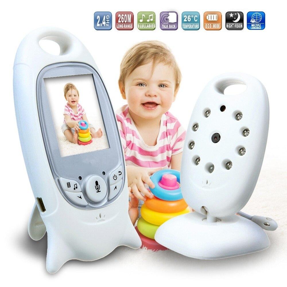 """bilder für (1 Satz) 2,0 """"7-zoll-lcd-bildschirm Wireless BABY Oldman Monitor IR nacht version 2 2-wege-sprachwechselsprechanlage mit temperatur funktion"""