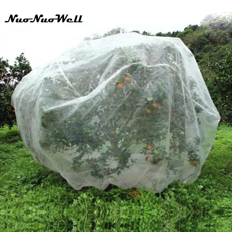 40 Mesh Nylon Plant Net Fruit Tree Covers Vegetable Protective Net Anti-Bird Garden Insect Net Plant Cover
