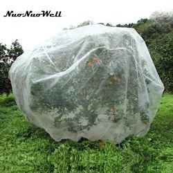 40 malha náilon planta rede de árvores de fruto cobre vegetal protetor net anti-pássaro jardim inseto net planta cobrir