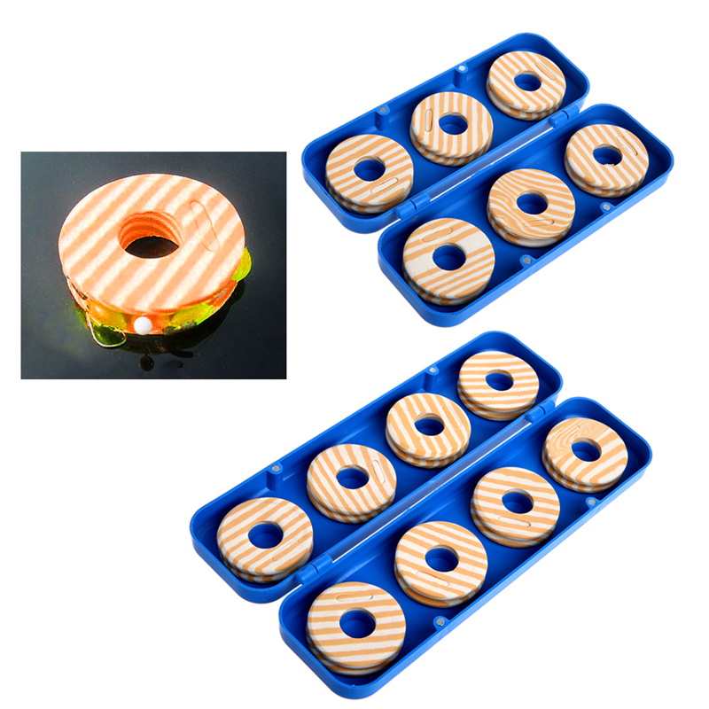 6/8Pcs Foam Winding Board Fishing Mainline Box Fishing Line Shaft Bobbin Spool Tackle Box Accessories