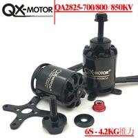 QX MOTOR QA2825 Brushless Motor 700KV 800KV 850KV CW CCW 3 6S Lipo 55A/10S 4KG Thrust for Fixed Wing Plane RC Quadcopter Parts