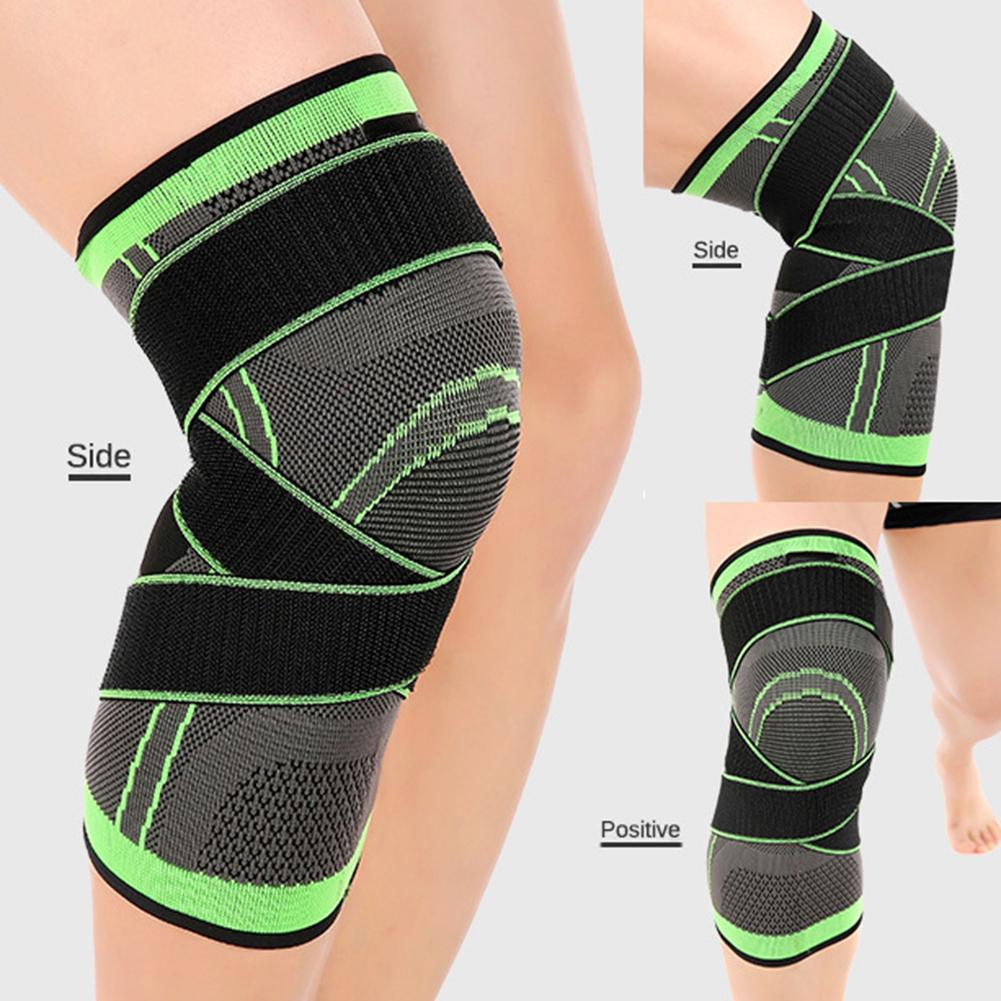 New Fashion Vintage Hot Chic Sports Knee Sleeve 1Pc Joint Pain Arthritis Relief Gym Sports Compression Knee Sleeve Support Pad