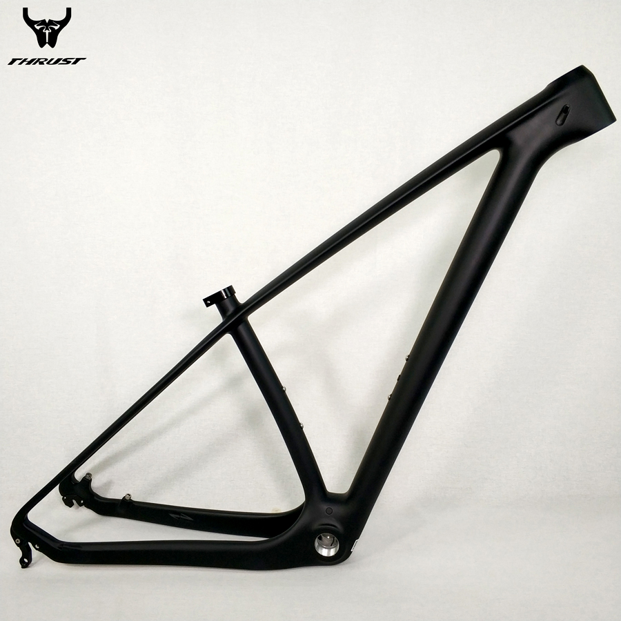 THRUST Carbon mtb Frame Road Mountain Bike Frame 29er Black Carbon Frame 29er 27.5er 15/17/19 for Bicycle 2017 mtb bicycle 29er carbon frame chinese mtb carbon frame 29er 27 5er carbon mountain bike frame 650b disc carbon mtb frame 29