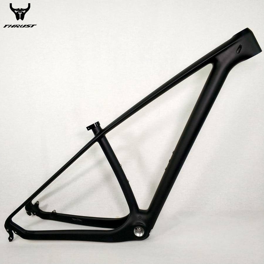 ✅THRUST Carbon mtb Frame Road Mountain Bike Frame 29er Black Carbon ...