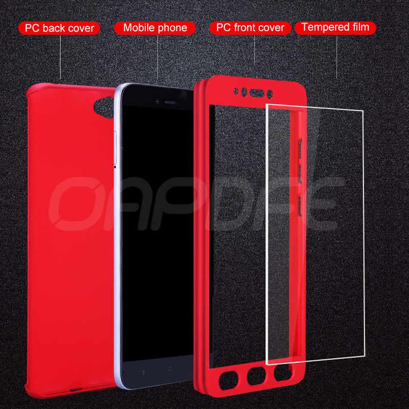 Полное покрытие чехол для телефона для Xiaomi Redmi S2 6A 6 Pro 5 плюс 5A 4X Защитный чехол для Redmi Note 6 Pro 5 5A 4 4X Pro с Стекло