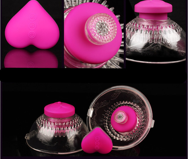 10 Modes Breast Pump Enlargement Papilla Nipples Massager Machine In Adult Games For Couples ,Fun Sex Products Toys For Women