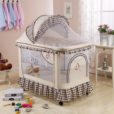 Duchess baby carriage newborn multi-functional cloth cradle bed baby baby bed baby lift game bed with mosquito net my american duchess
