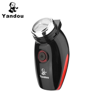 Yandou Brand Shaver 2017 New Model Rechargeable Long Life Men S Silver With Pushing Type