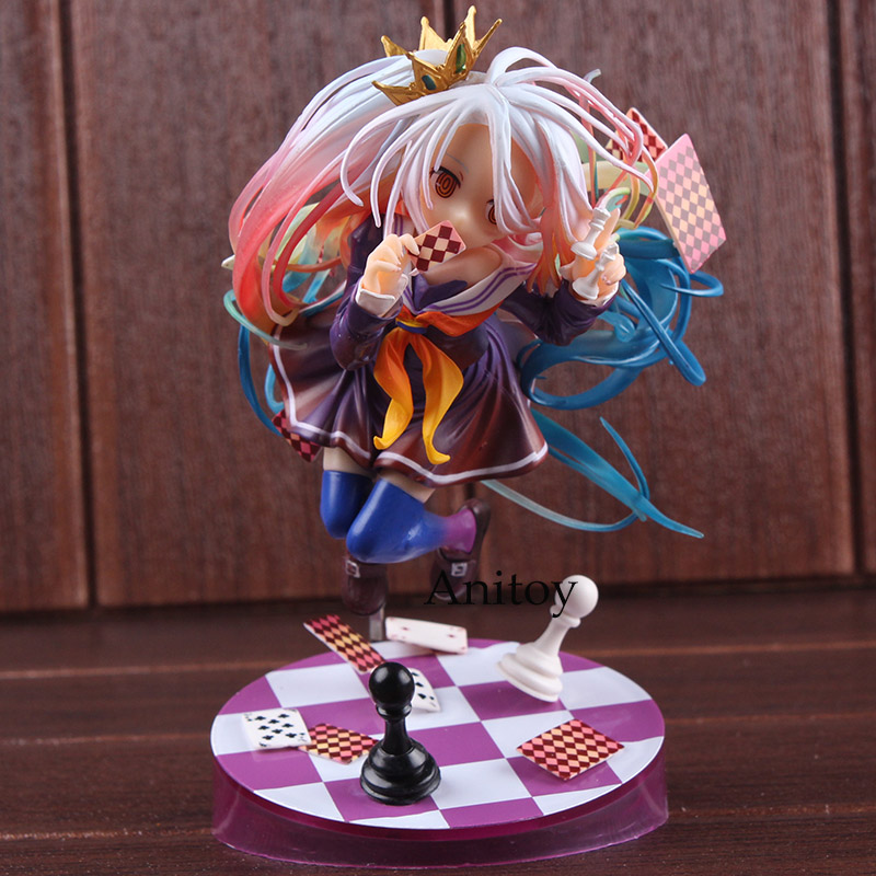 No Game No Life Shiro Figure 1/7 Scale Pre-Painted Figure PVC No Game No Life Figure Collectible Model Toy 15cmNo Game No Life Shiro Figure 1/7 Scale Pre-Painted Figure PVC No Game No Life Figure Collectible Model Toy 15cm