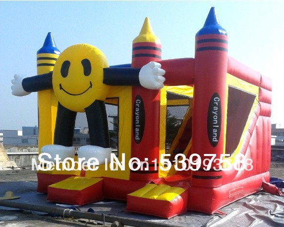 Factory direct inflatable trampoline, inflatable slides, inflatable toys for children ...